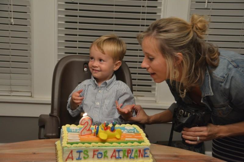 Drew's 2nd birthday 059